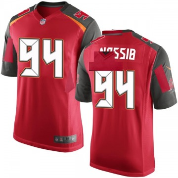 Youth Tampa Bay Buccaneers Carl Nassib Red Game Team Color Jersey By Nike